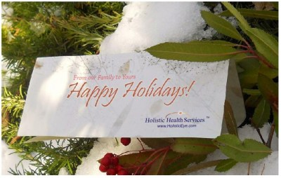 Happy Holidays from Holistic Health Services
