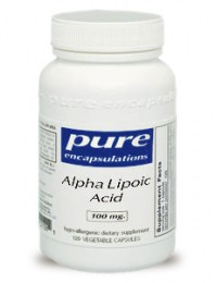 Alpha Lipoic Acid Supplements - Pure Encapsulations